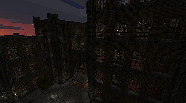 Hotel by night.