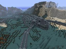 Giant Stone Skeleton Minecraft Map & Project