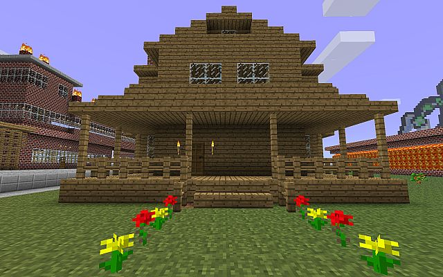 Farmhouse Minecraft Project