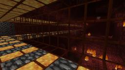 Nether viewing tunnel Minecraft Map & Project
