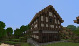 Some half-timbered houses Minecraft Map & Project