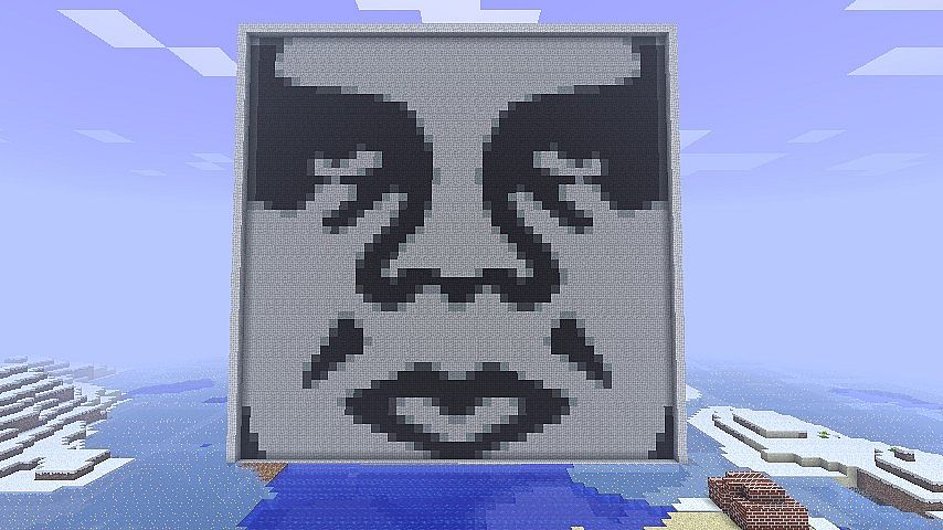 Obey Giant Minecraft Project