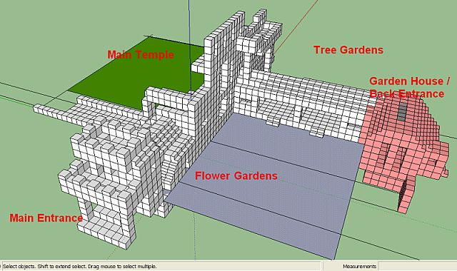 temple gardens minecraft project