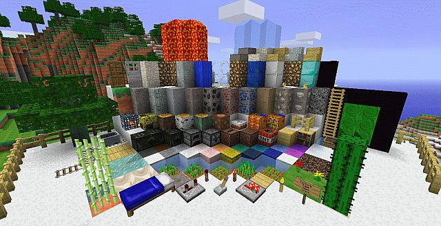 Minecraft Sword Craft Texture Pack