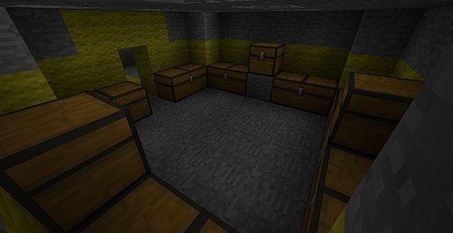Supply room.