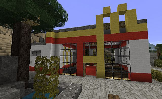 McDonalds - Beach Town Project Minecraft Project