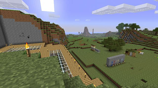 Top side, You can add floors or an inside treehouse :D