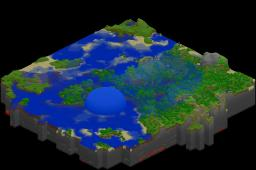 Water Bubble and Water Minecraft Map & Project