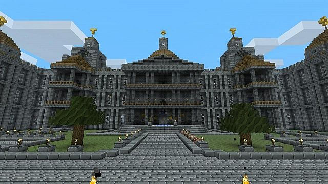 A look at the palace from the front