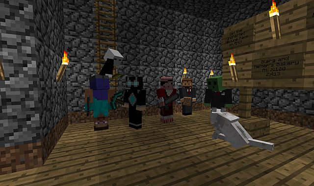 Group picture. Left to right: BlargFace333, Madiau, Swarmer2010, HelterFelter, the_kacboy, Hibbsi, and Hibbsi's dog. The hand: Zaralith
