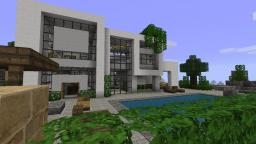 Modern House 2 - Beach Town Project Minecraft Map & Project