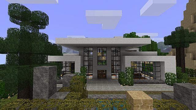 Modern House 2 Beach Town Project Minecraft Project