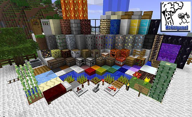 McGargamel's Minecraft Texture Pack