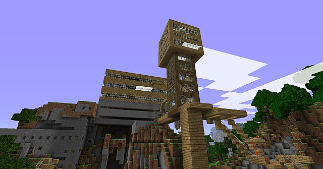 Mountain Fortress Minecraft Project