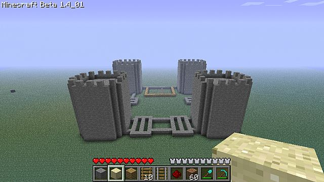 Army barracks minecraft project for Minecraft base blueprints
