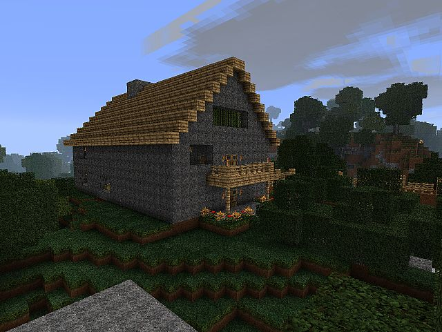 Minecraft Functional House Minecraft Project