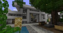 Modern House 3 - Beach Town Project Minecraft Map & Project