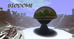 Bio-Dome (World save + schematic) Minecraft