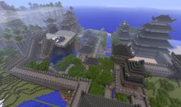 Himeji Castle Minecraft Map & Project