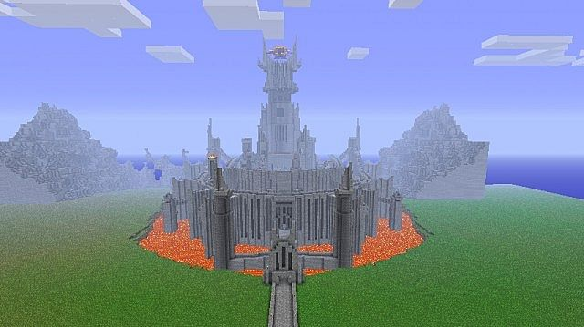 A view from the gate of Minas Tirith.