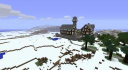 Tudor on the Tundra Minecraft Map & Project