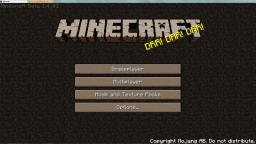 SepiaCraft Minecraft Texture Pack