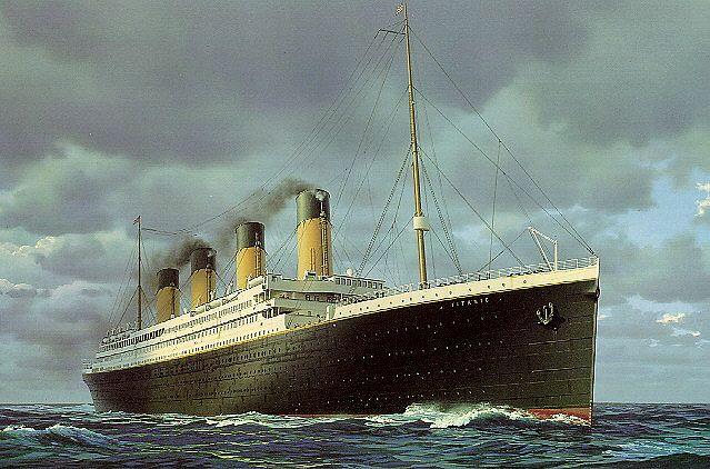 What the titanic looks like irl