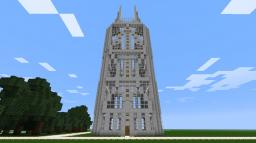 Magnavox Tower Minecraft Map & Project