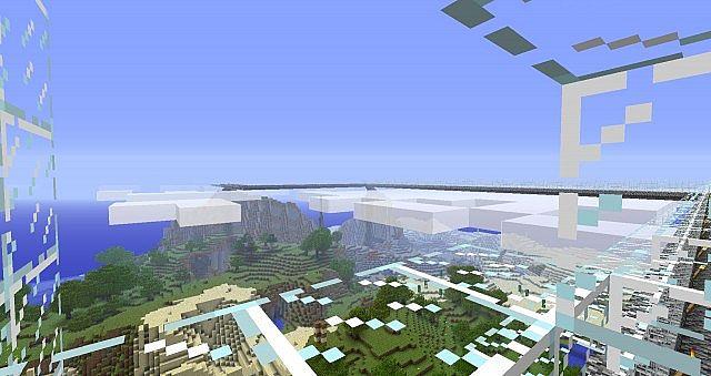 Sky Bridge Minecraft Map