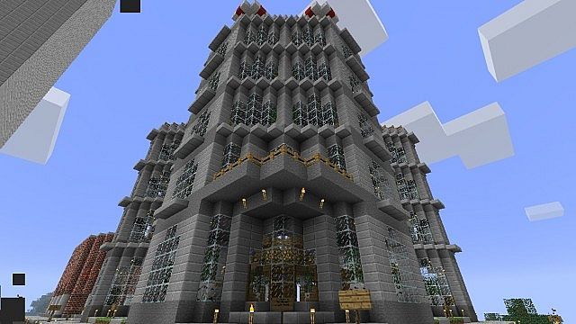 Grand Whyte Hotel Minecraft Project