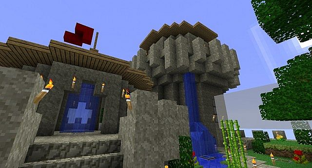 The tallest towers (with my awesome flag! lol)