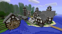 Guerra Dei Mondi Minecraft Map & Project