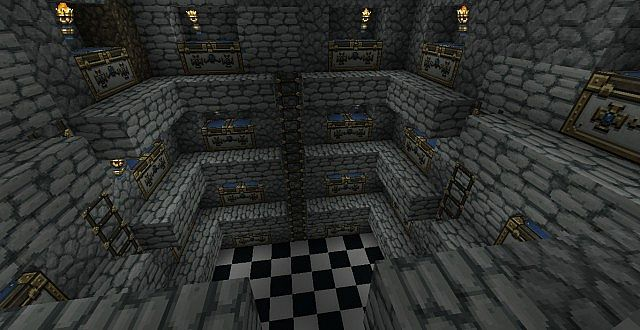 Large Chest Room Minecraft Project