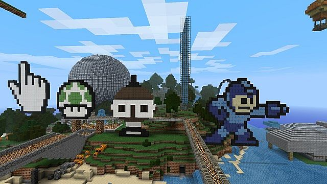 This is the upcoming EpCraft Theme Park with Lots of wool pictures!