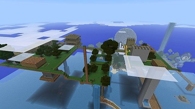 This is SkyCity! A town in Development! Come help us build it!