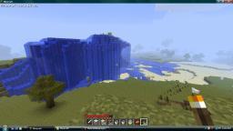 Waterfall and lake in progress! (PICS!!!) Minecraft Blog
