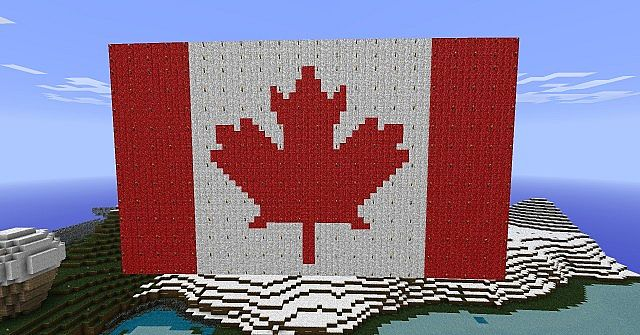 how to build flag minecraft