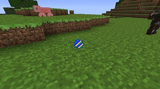 The easter egg when it is dropped or laid by a chicken. :P