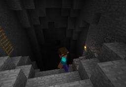 Cave shenanigans Minecraft Blog Post