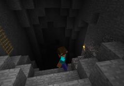 Cave shenanigans Minecraft Blog Post