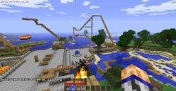 theme park updated from the better rollercoaster ride Minecraft