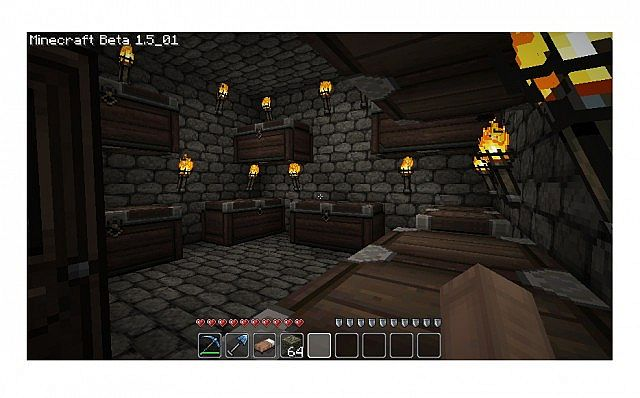 how to build a secret underground room in minecraft