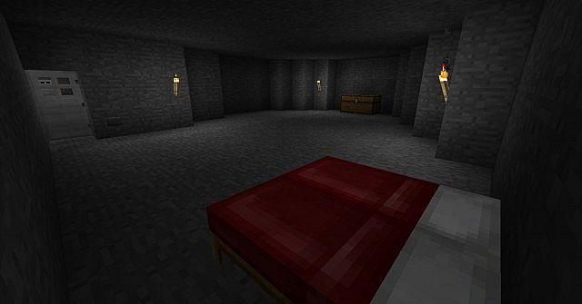 Standard room on lower floors, again easy to customise.