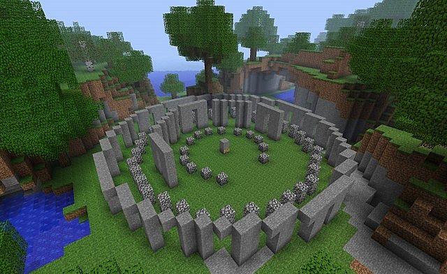 Stonehenge Minecraft Project