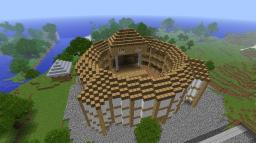 Globe Theatre Minecraft Map & Project
