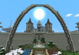 Mega Huge Castle (now with mob harvester) Minecraft Map & Project