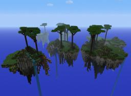 Floating Islands - Tutorial Minecraft Map & Project