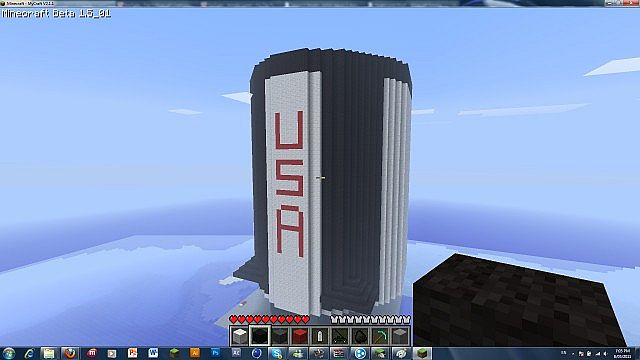 Finally, after 5 hours, the bottom stage of the Saturn V is COMPLETE!