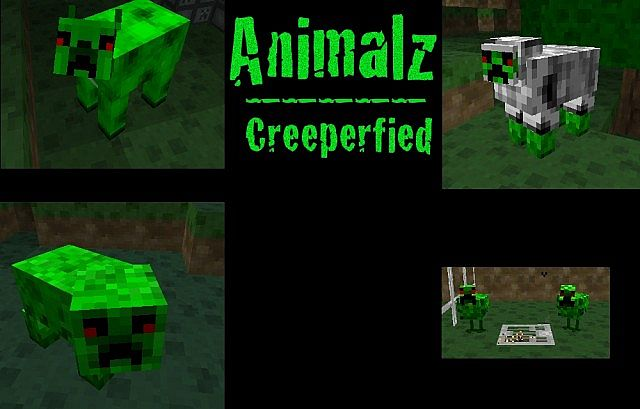 Creeperfied Animal Skins