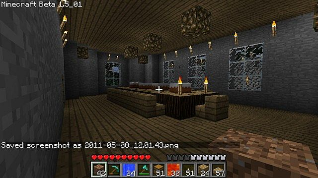 Minecraft manor large house w schematic minecraft project for Minecraft dining room designs